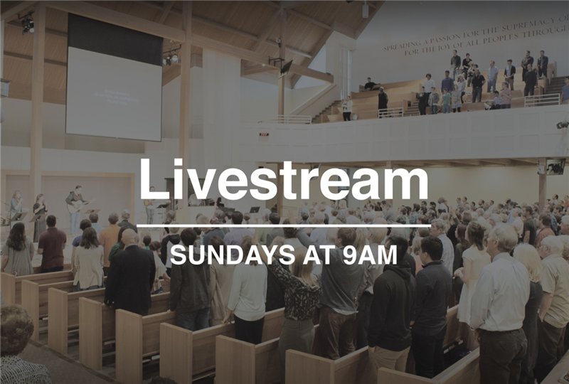 Streaming Worship Service