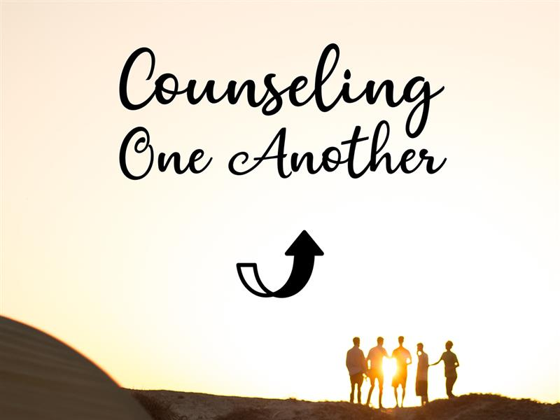 Counseling One Another: Helping Others Change